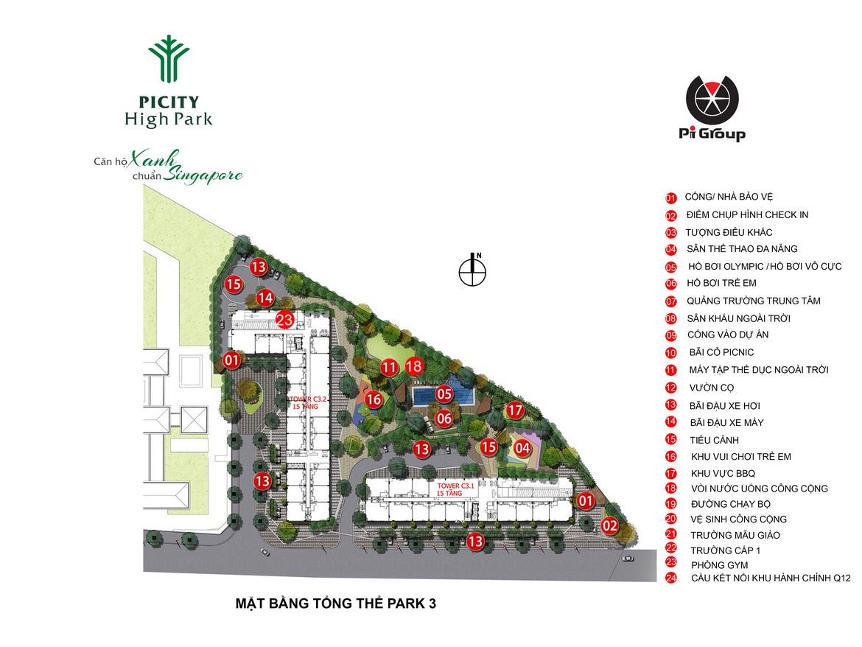 picity high park