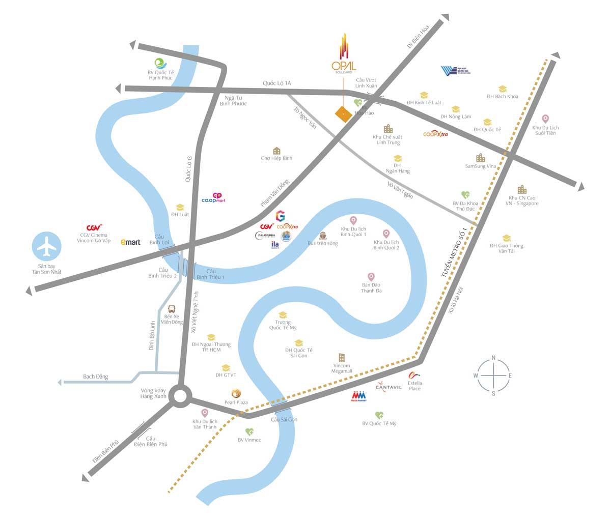 opal-boulevard-vi-tri-dat-xanh-binh-duong
